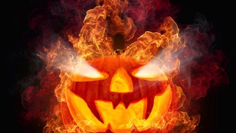 Fires at Halloween