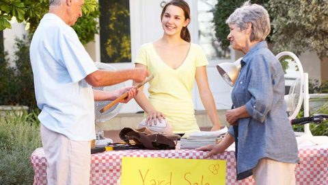 Getting Ready for Winter: The Yard Sale