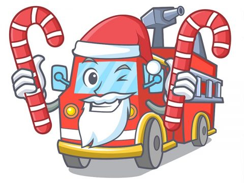 Looking for Santa? Call Your Local Fire Department