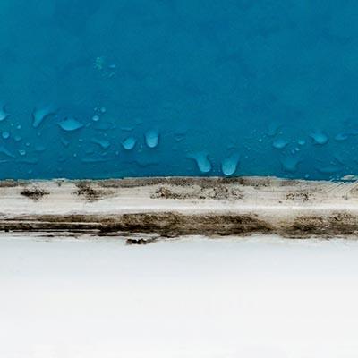 water damage mildew smell in bathroom