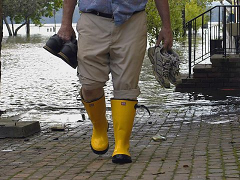 When to Move Back into a Flooded Home